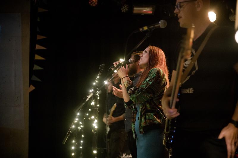 Fra plateslippet til den triple lovsangsplata 09.09.2017. Vokalist: Christina Høgetveit. Foto: Rockheim/Marthe Amanda Vannebo (Foto/Photo)