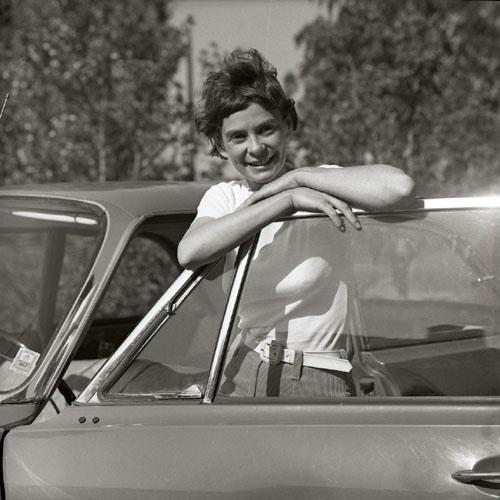 Cecilia Bruce sommaren 1966.