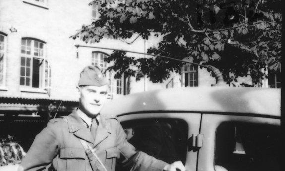 Strömberg, sergeant, A 6.