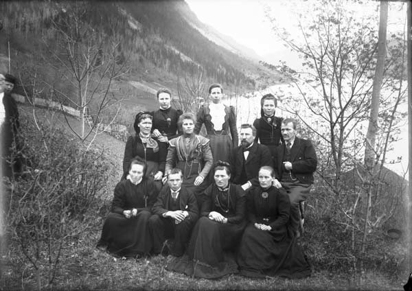 Kurvmakarskulen i Lårdal 1901