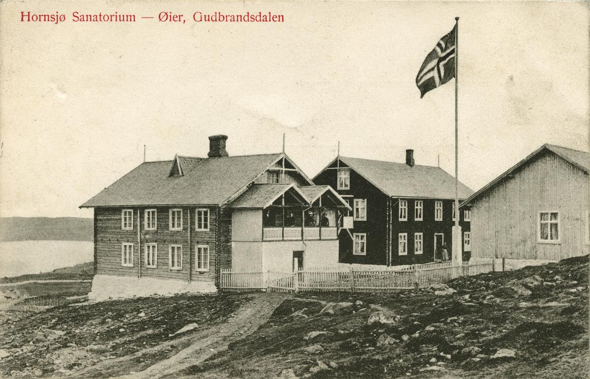 Postkort: Hornsjø Sanatorium