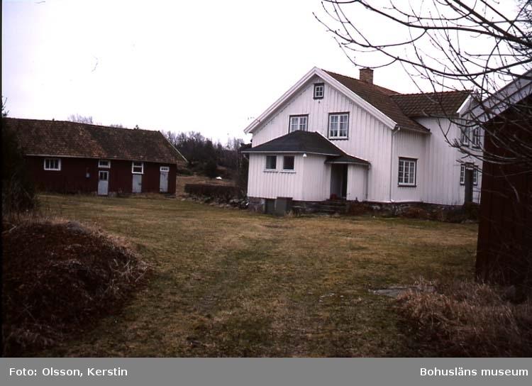 """Text på kortet: """"Lännestad Bro sn. April 1987""""."""