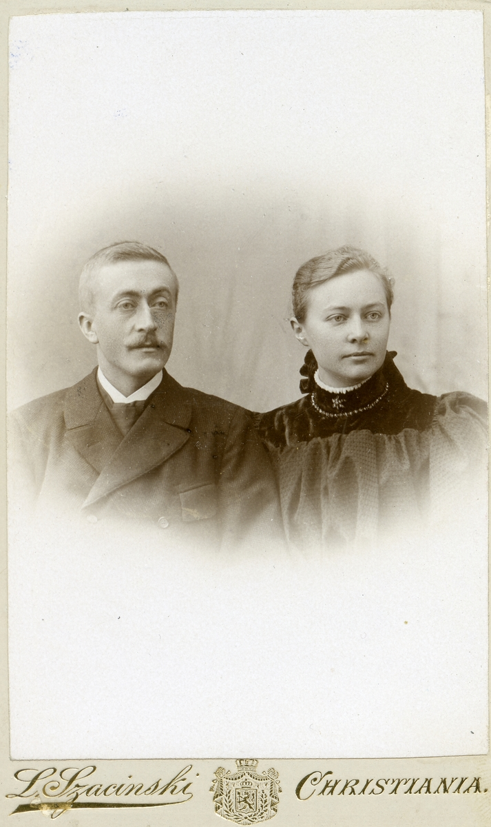 Dr. Lange med kone.