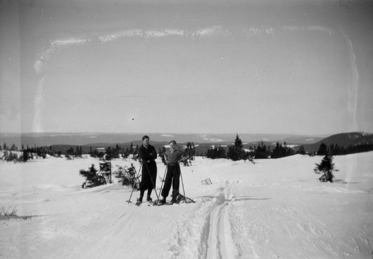 Skiløpere på Nordseter.