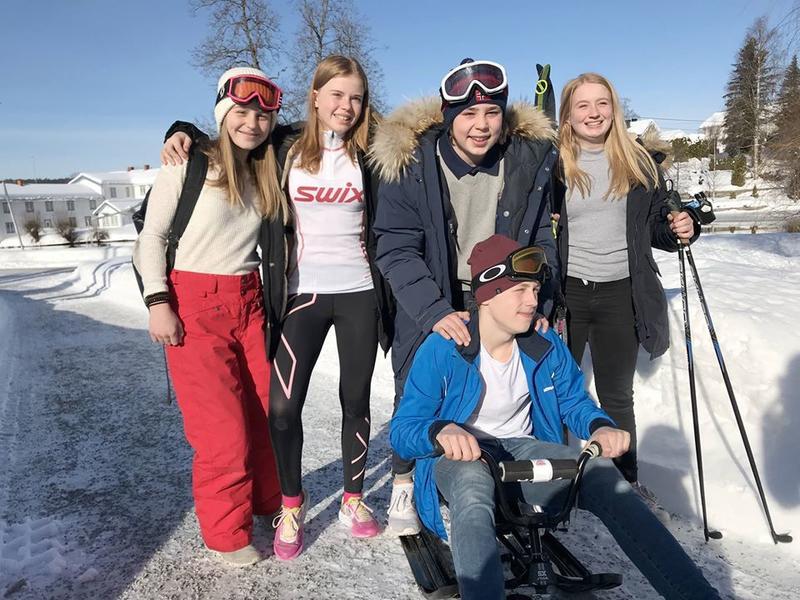 Gruppa fra Nannestad fremførte sin idé som et rollespill med både ski og kjelke på scena. Idéen om et eget lokalt OL for ungdom i bygda ble premiert med en tredjeplass.