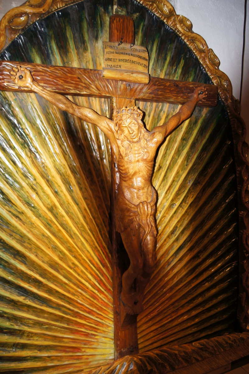 Jesus på korset. Korsfestelsen.