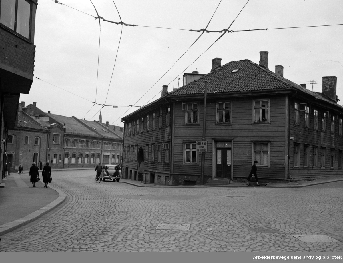 Maridalsveien 12. 1950