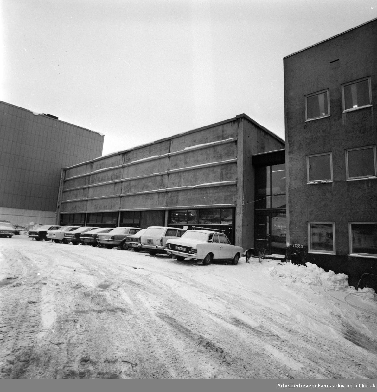 Løren: Arbeidernes Aktietrykkeri. Januar 1977