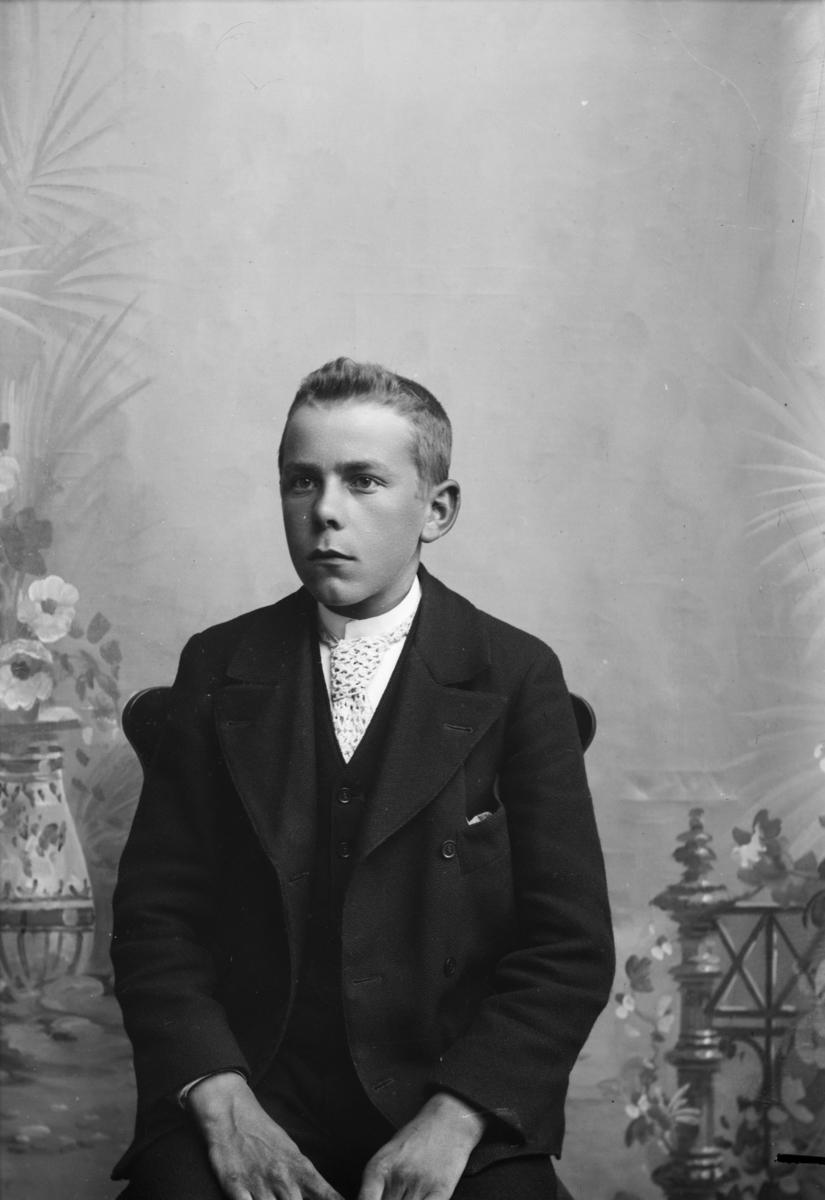 Portrett av Karl Kristiansen