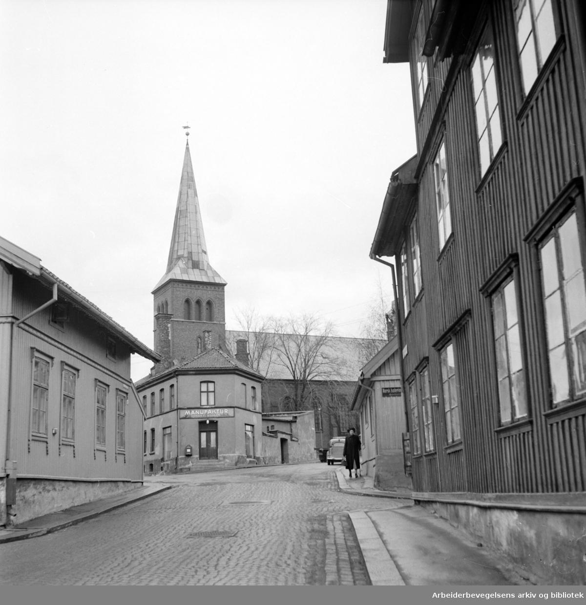 Kampen. Normannsgata. Mai 1951