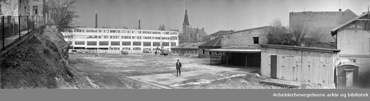 Homansbyen. April 1970
