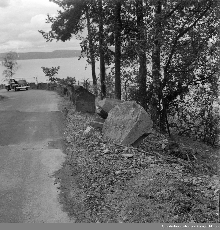 Hvervenbukta. September 1962