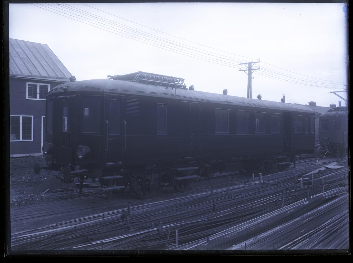 Diesel-elektrisk vagn för HNJ (alternativt MISIJ). Tillverknings år: 1914.