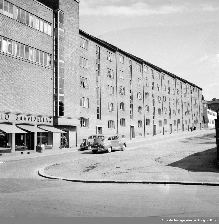 Fagerheimsgata 2 -14 (Grünerløkka Samvirkende). November 1948