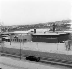 Coca-Cola-fabriken vid Bultgatan i Nacksta. Exteriörbilder s