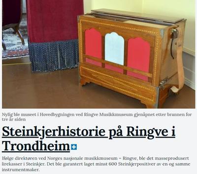 Steinkjer_Avisa_om_MiH_juni_18.jpg. Foto/Photo