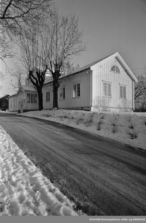 Berg gård. Desember 1969