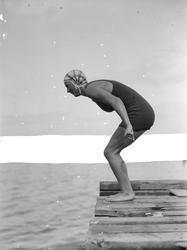 Svømmestevne ved Skansen