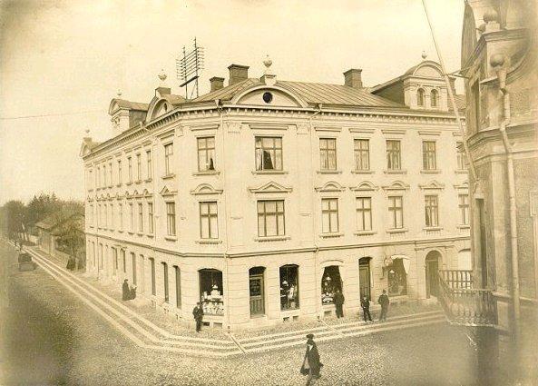 Hjalmar Lundins Bok & musik & Pappershandel, senare Norders Bokhandel.