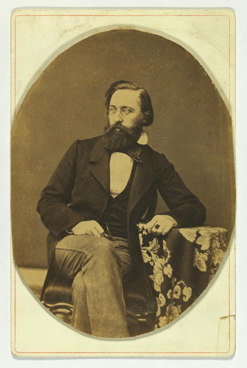Portrett av Hans Gude.