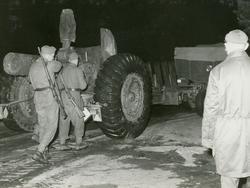 Gruppering 15,2 cm kanon m/37