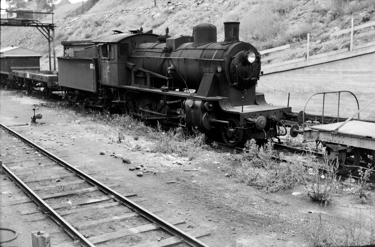 Damplokomotiv type 24b nr. 147 i Lodalen i Oslo.
