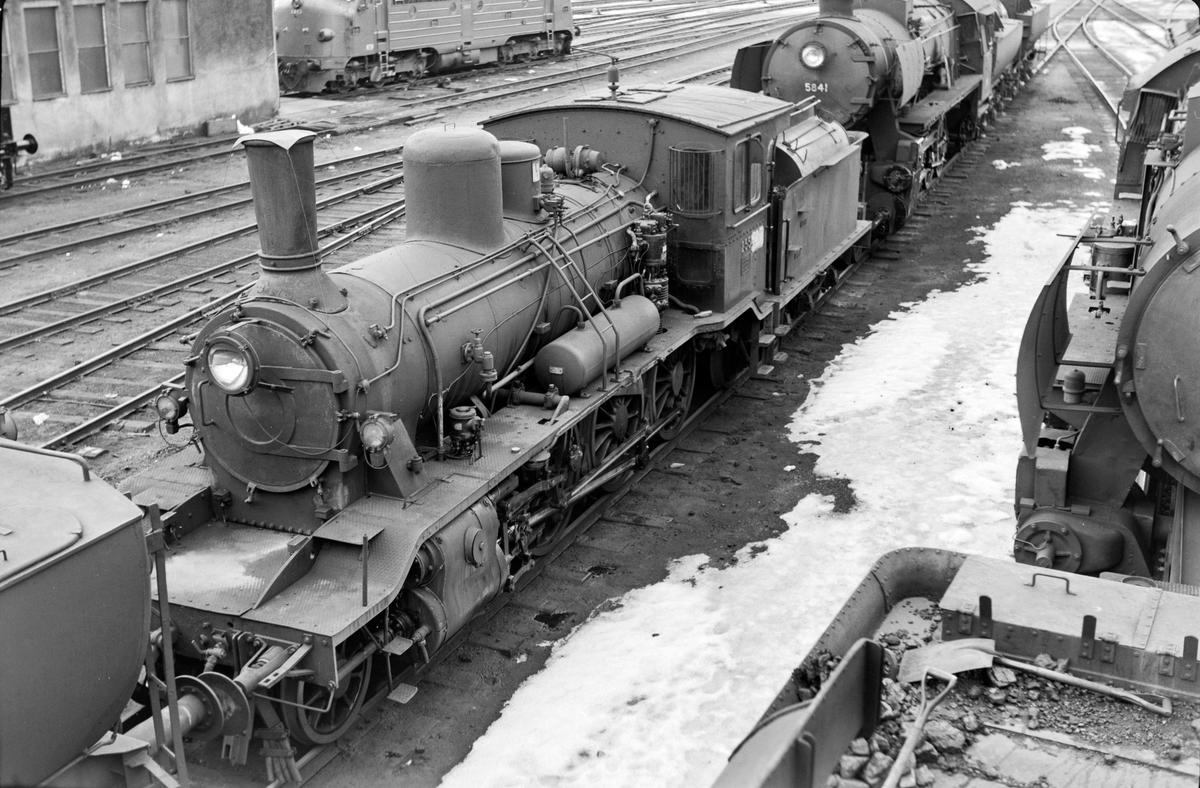 Damplokomotiv type 18c nr. 255 på Marienborg.