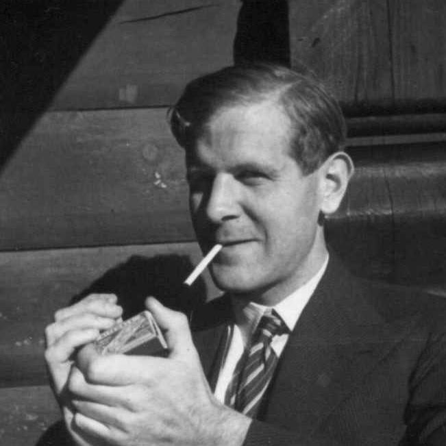 Reidar Kjellberg som ung (Foto/Photo)