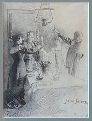Leve Ibsen [Tegning]
