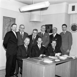 Svenska byggnadsarbetareförbundets avdelning 197, gruppfoto