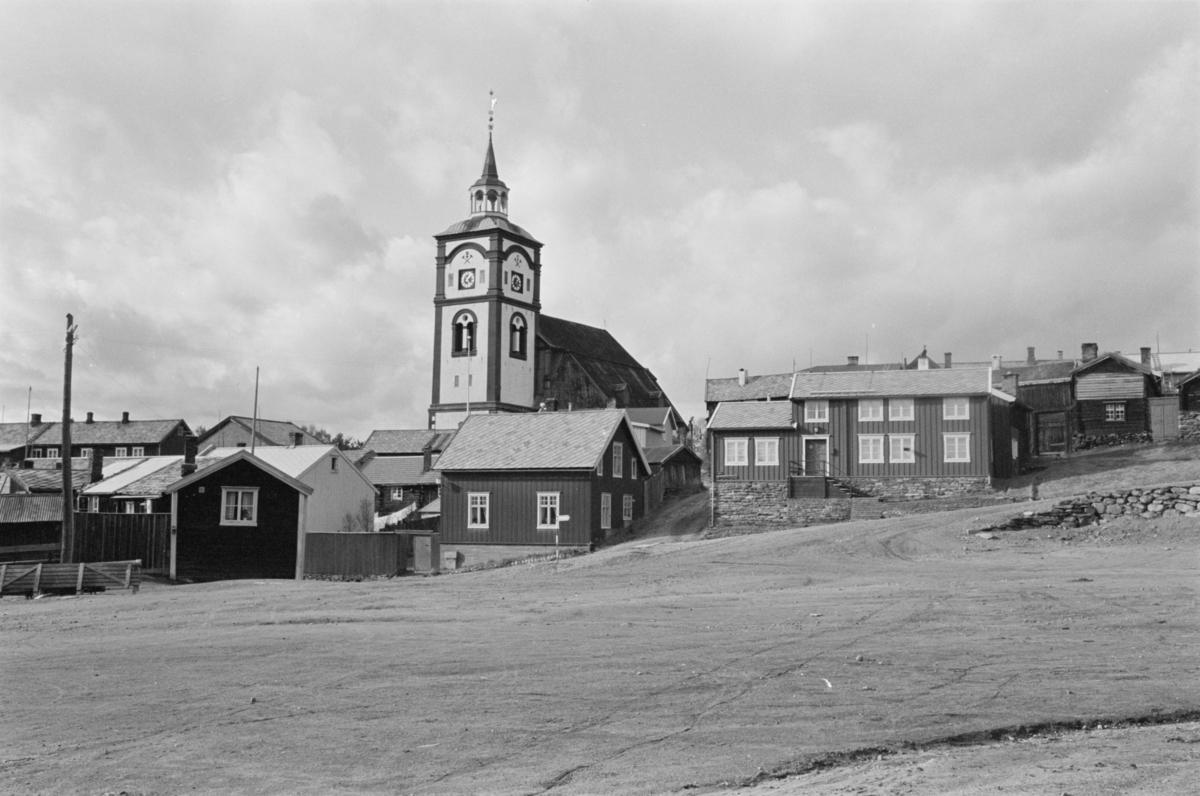 Bebyggelse på Røros.