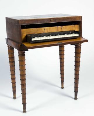 Kombinert piano og sybord