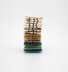 Gul stabel [Skulptur]