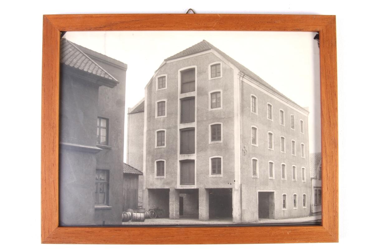 Jonas Øglænds lagerbygg og pakkehus for landbruksavdelingen i Gjesdalveien.