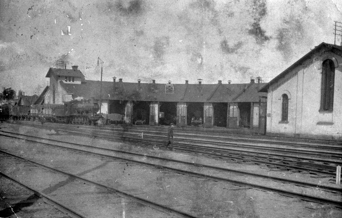 Göteborg - Borås Järnvägar, GBJ lokstall