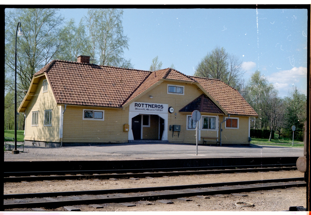 Rottneros station.