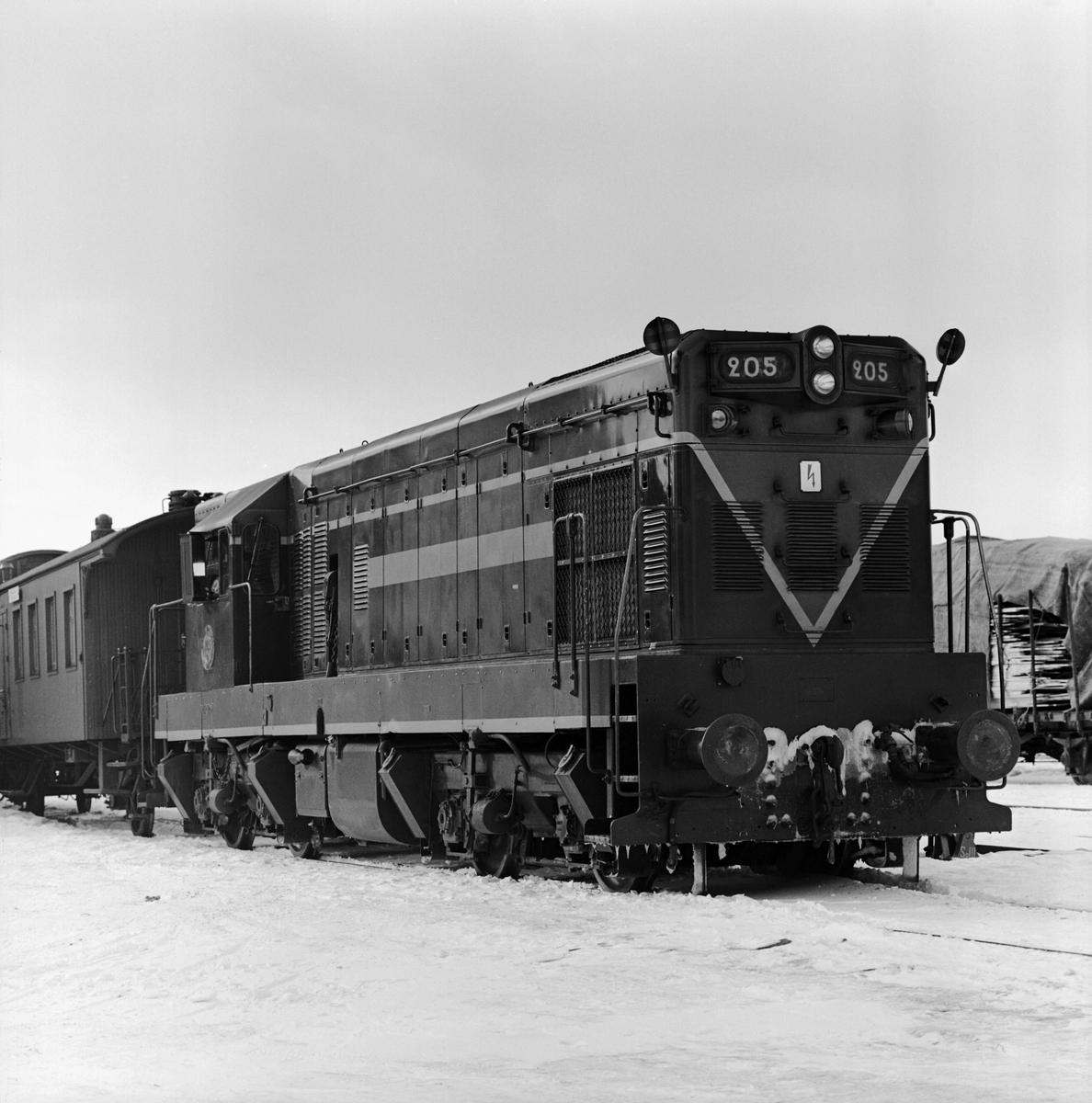 Diesellok, SJ T42 205, (T5)