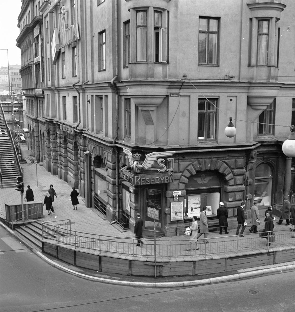 Statens Järnvägars Resebyrå, Vasagatan 1