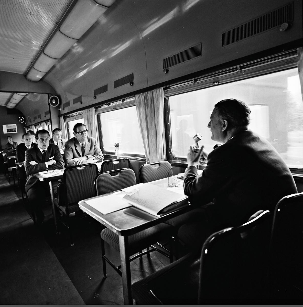 Centrala Företagsnämnden har förhandling i Ro2 under resan mot Kiruna - Narvik