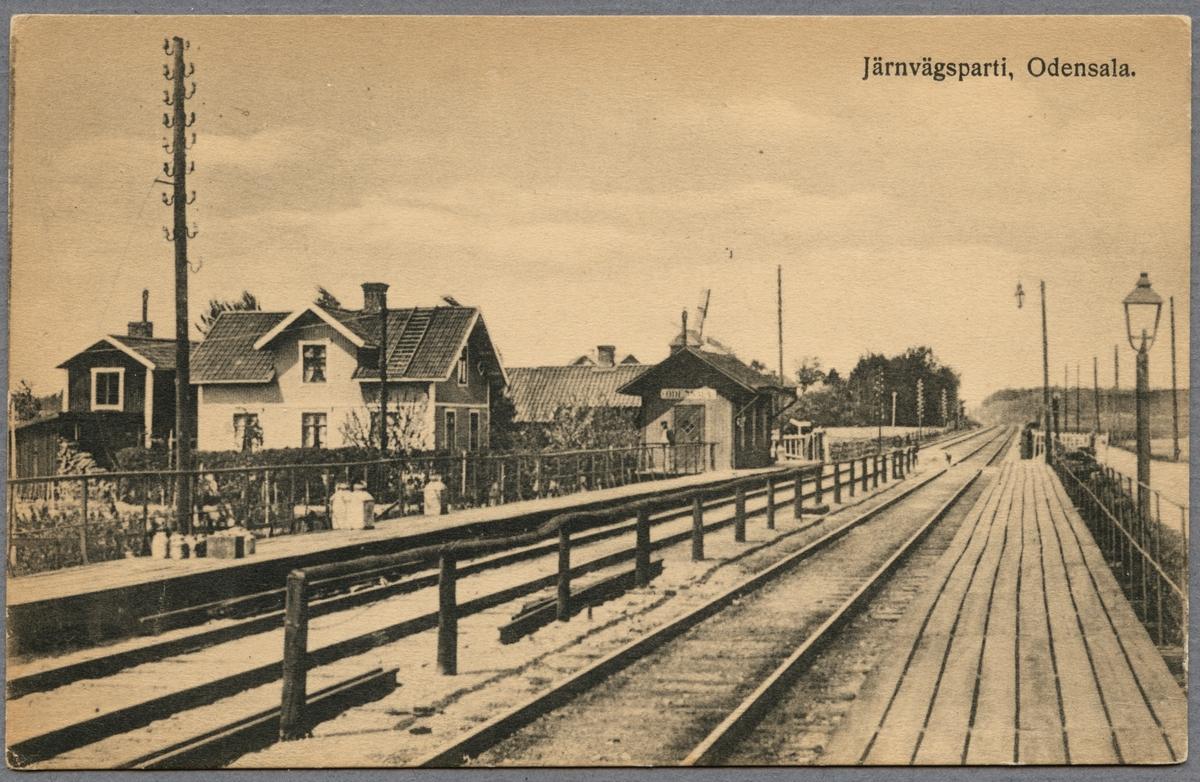 Odensala station.
