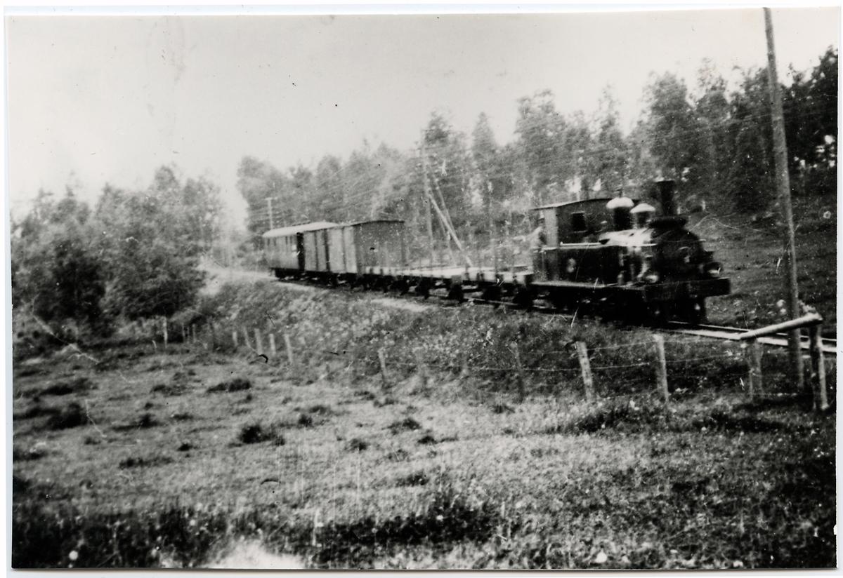 Askersund - Skyllberg - Lerbäcks Järnväg, ASLJ lok 5.