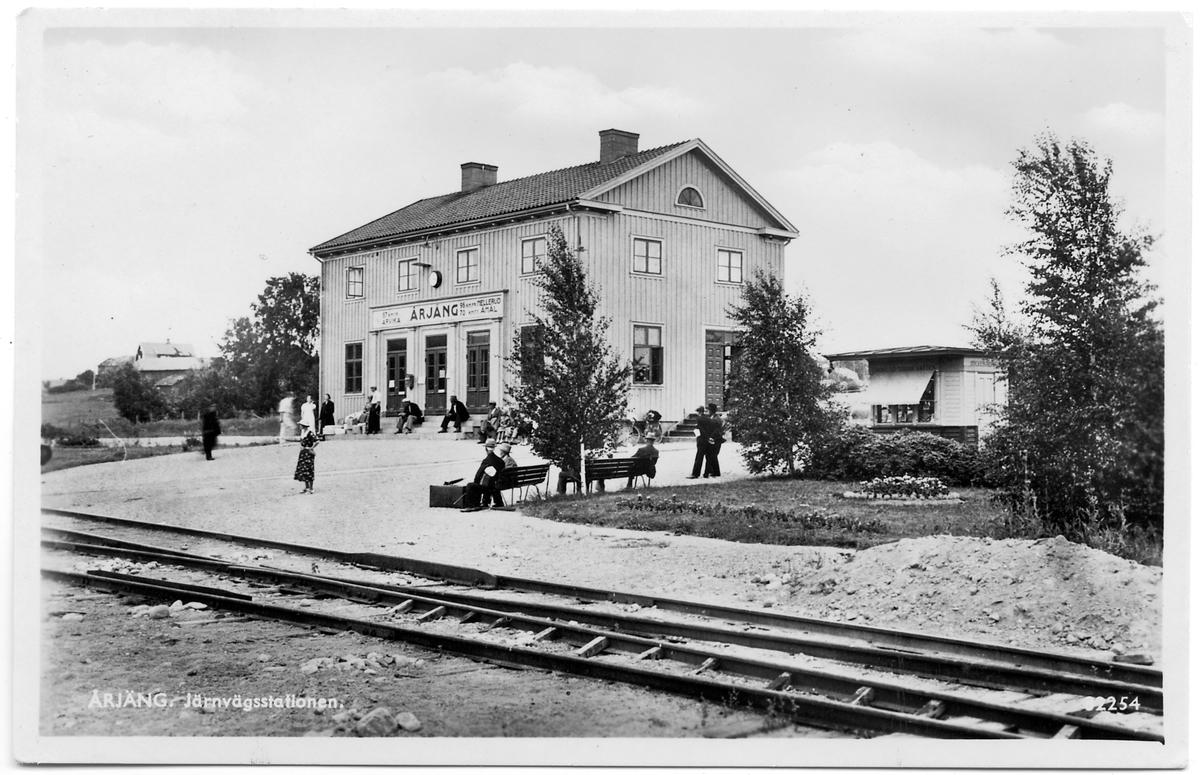 Årjäng station.
