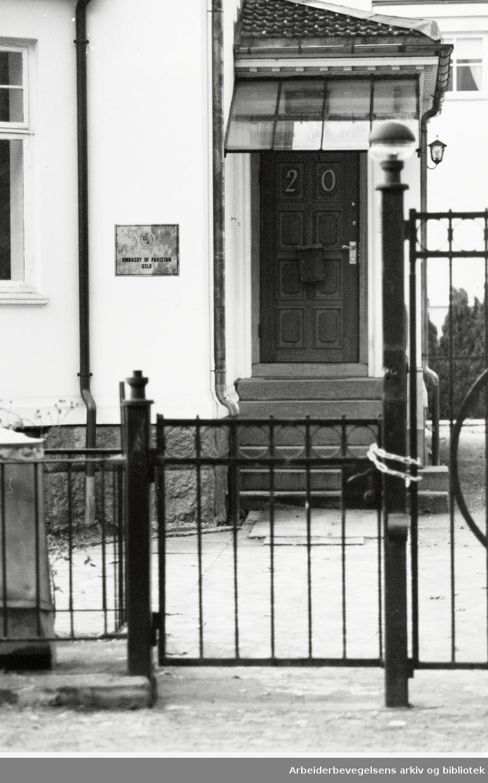 Eckersbergsgate 20. Januar 1992