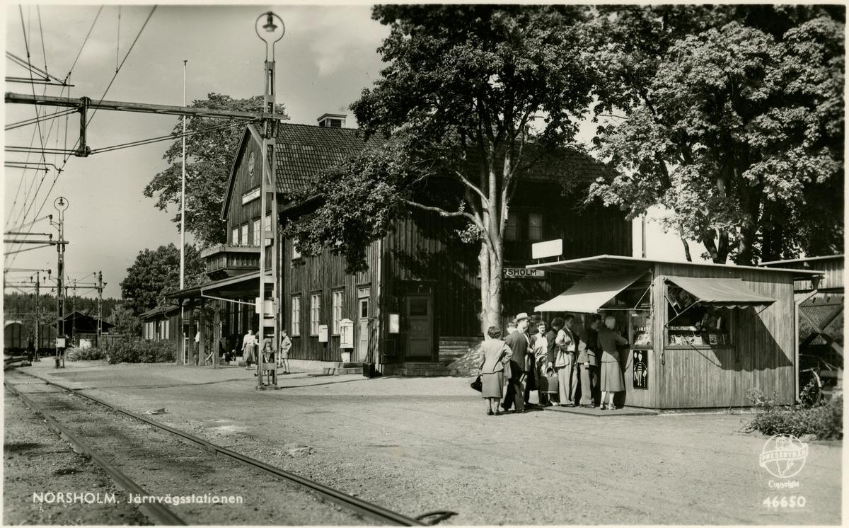 Norsholms station.