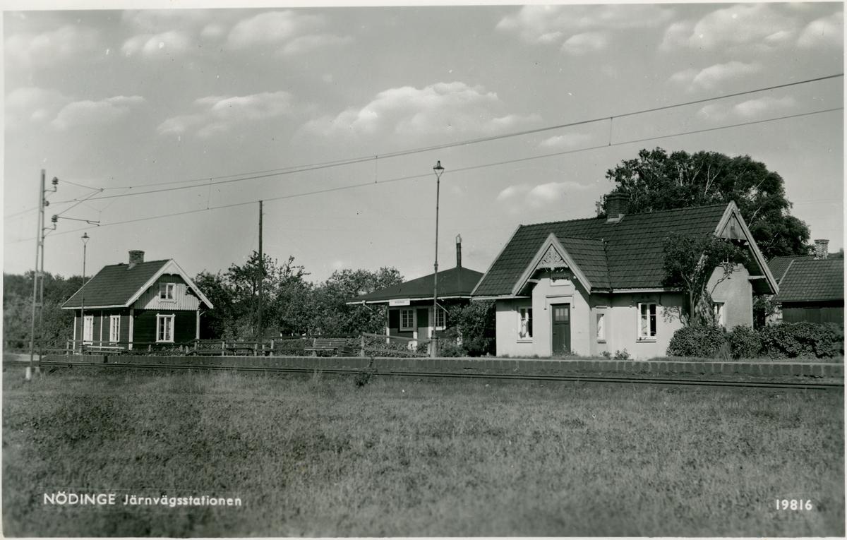 Hållplats öppnad  1894. Nedlagd 1970.