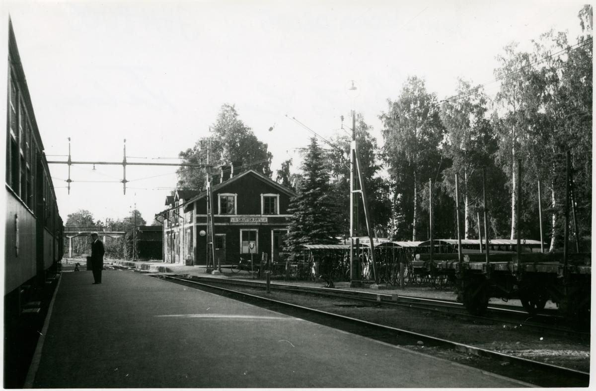Skutskär station 1947.
