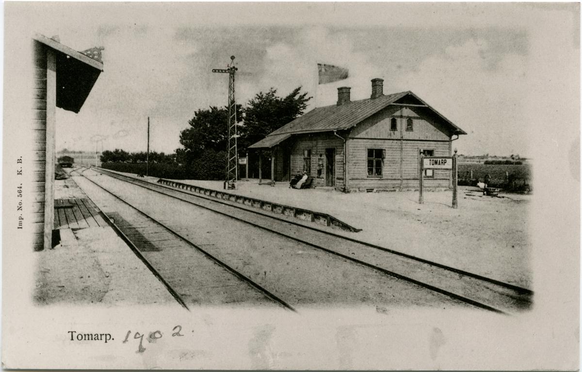 Ö Tommarp station innan namnbytet.