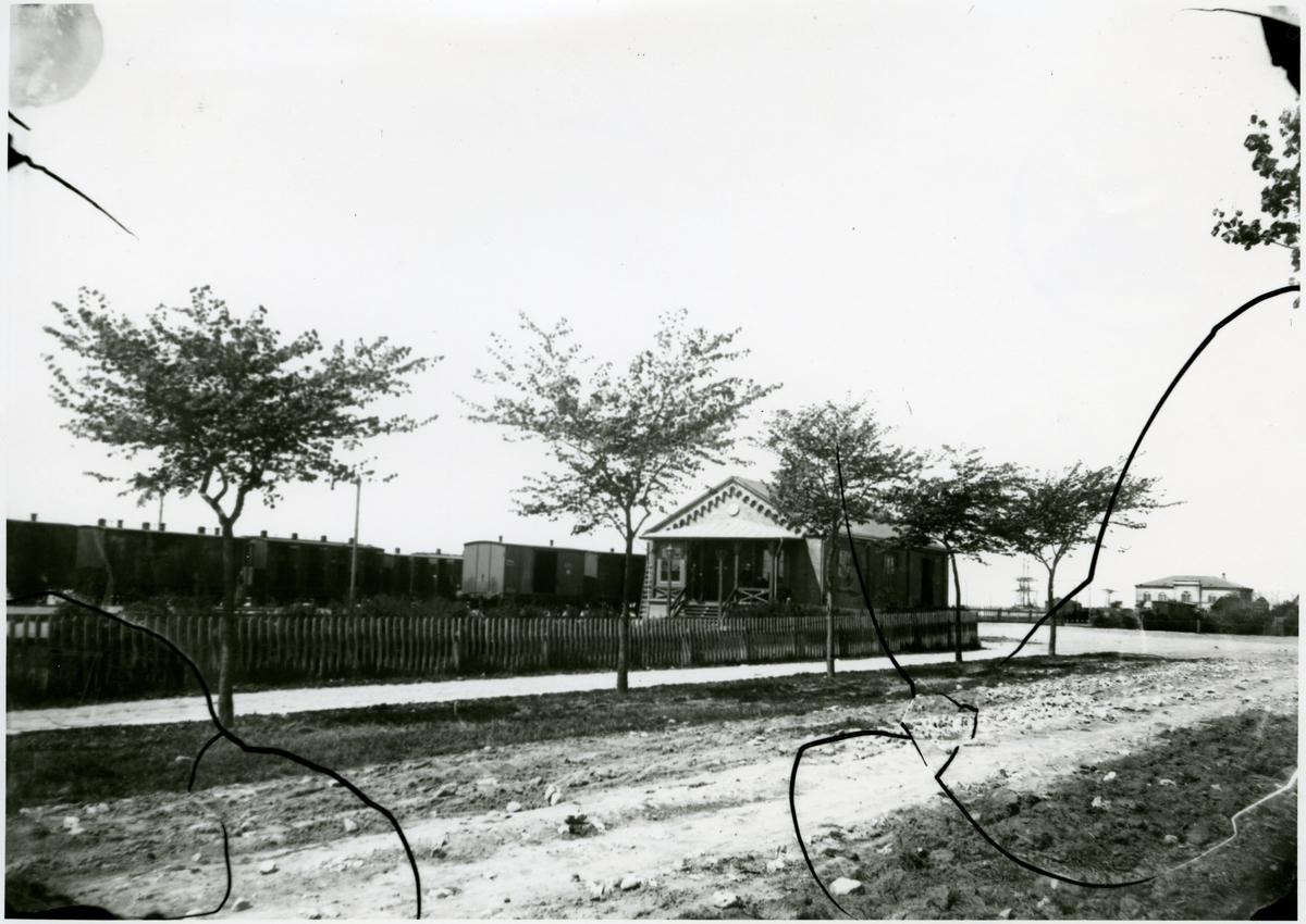 LTJ´s äldsta station, numera del av godsmagasin.
