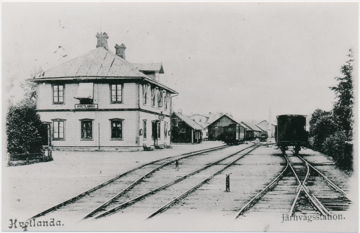 Vetlanda station