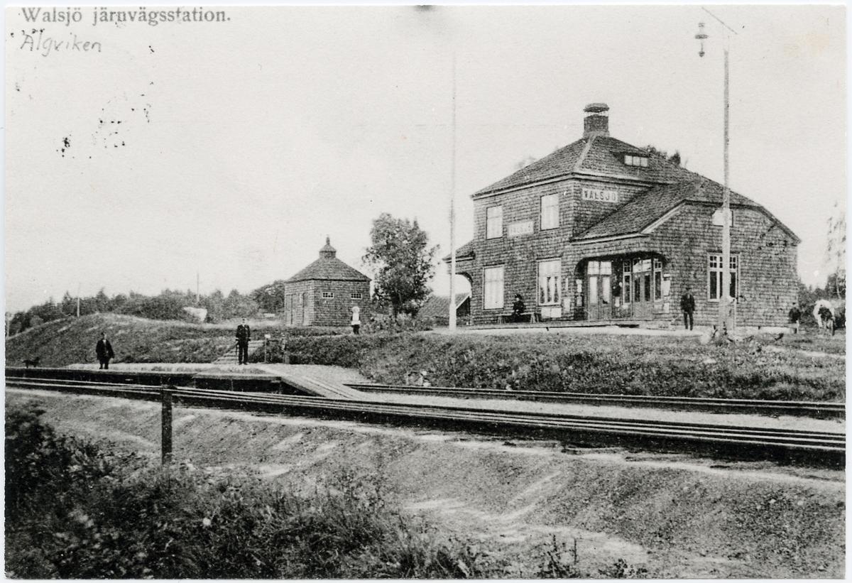 Äljviken järnvägsstation.